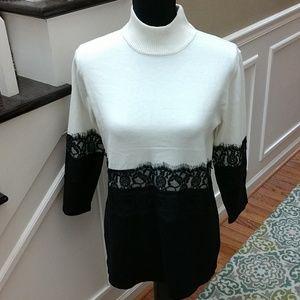 Belldini sweater top, medium